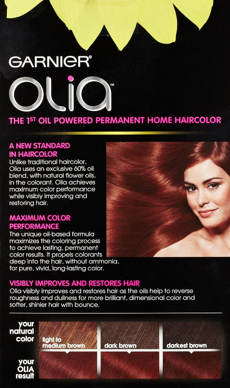 Amazon Garnier Olia Oil Powered Permanent Haircolor 55