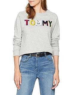 Tommy Hilfiger Francesca C-nk Sweatshirt LS, Sudadera para Mujer