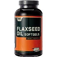 OPTIMUM NUTRITION Flaxseed Oil Softgels 1000 mg 200 softgels