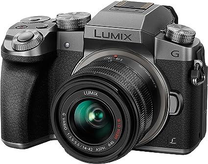 Panasonic Dmc G70keg S Lumix Systemkamera 3 Zoll Mit Kamera