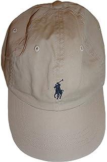 2e387d67d Polo Ralph Lauren Men`s Cotton Chino Baseball Cap (Light Grey (2001 ...