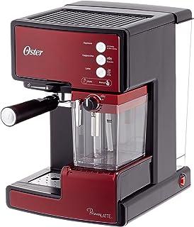 Oster Prima Latte - Cafetera espreso con tratamiento de leche, 15 bares de potencia (