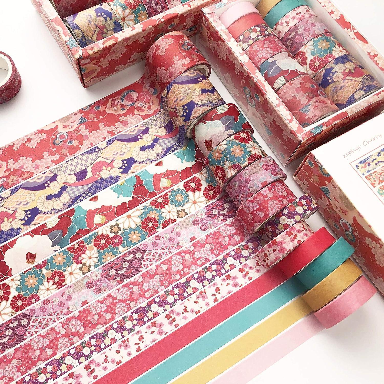10 rolls Pink Washi Tape Set Candy Washi Tape Cherry Blossom Washi Tapes Sakura Washi Tape Flower Washi Tape Cloud Washi Tapes 2m