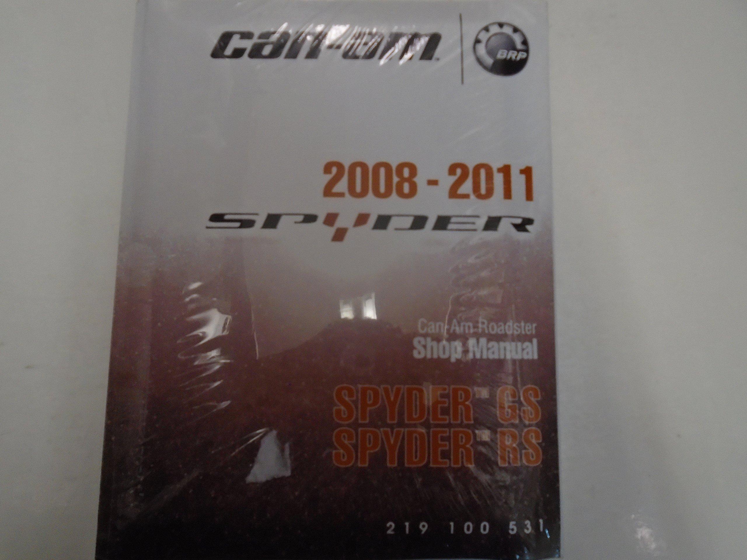 2008 2009 2010 2011 Can Am Spyder GS SM5 SE5 Roadster Shop Service Manual  NEW Paperback – 2011