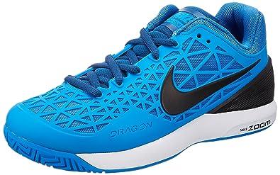 best sneakers a7b92 92bc2 Nike Zoom Cage 2, Chaussures de Tennis Homme, Multicolore-Bleu Noir