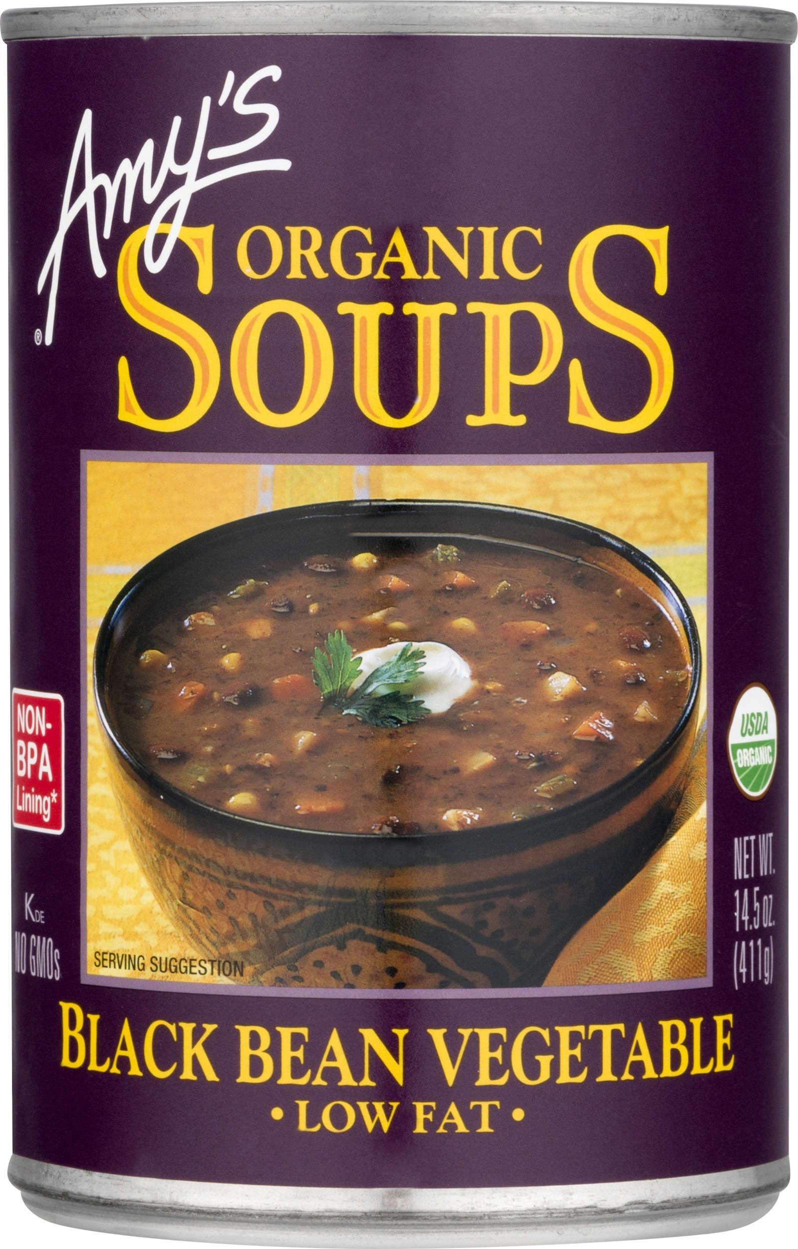 Amazoncom Amys Organic Soups Lentil 145 Ounce Pack Of 12