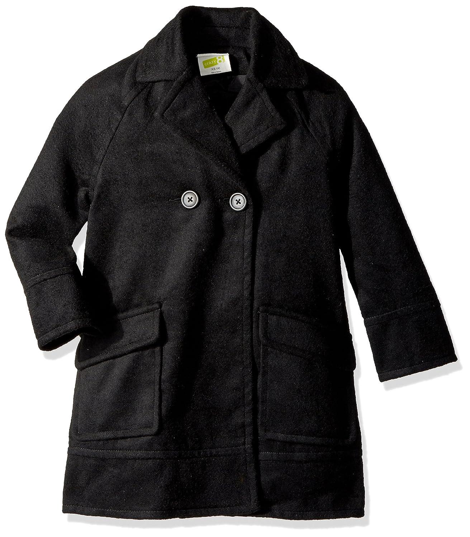 Crazy 8 Girls Little Black Wool Coat