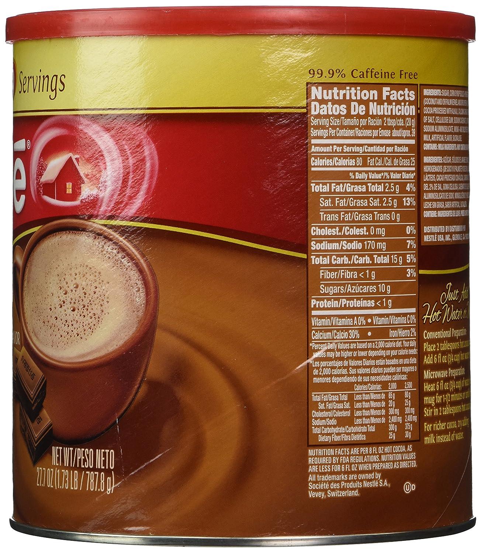 Amazon.com : Nestle Hot Cocoa Mix, Rich Milk Chocolate (39 ...