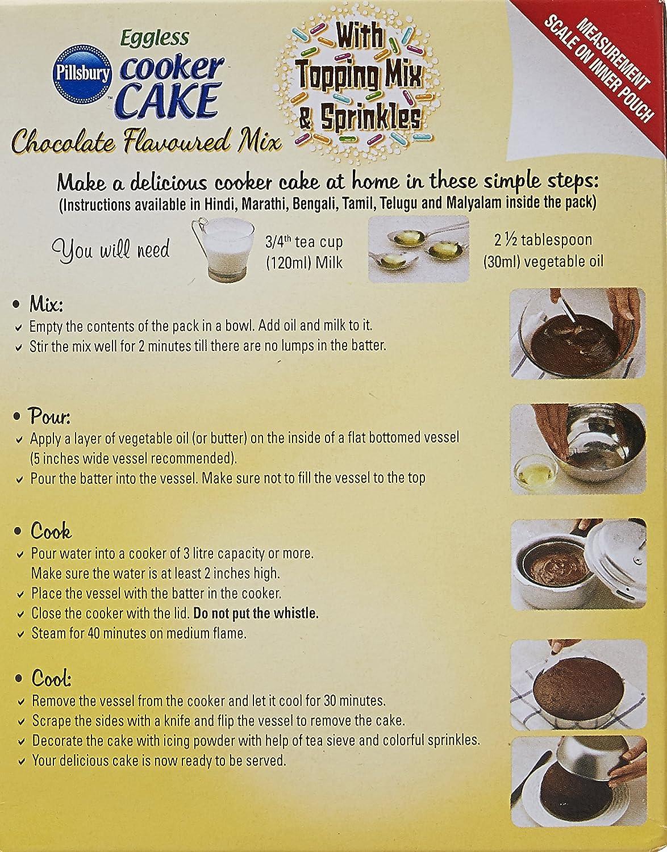Pillsbury Eggless Chocolate Cake Mix Recipe