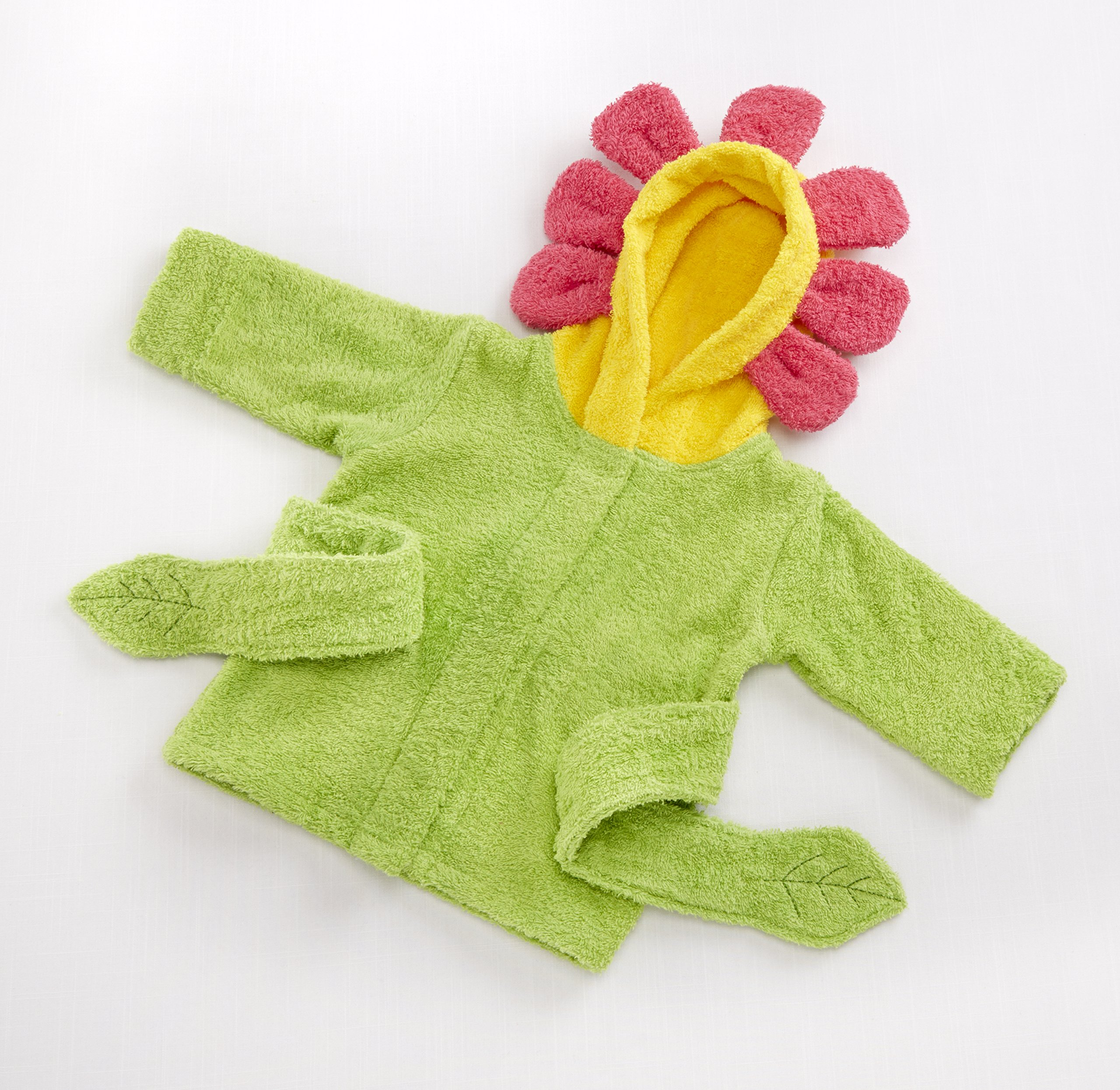 Baby Aspen Hooded Spa Robe, Showers and Flowers by Baby Aspen (Image #3)