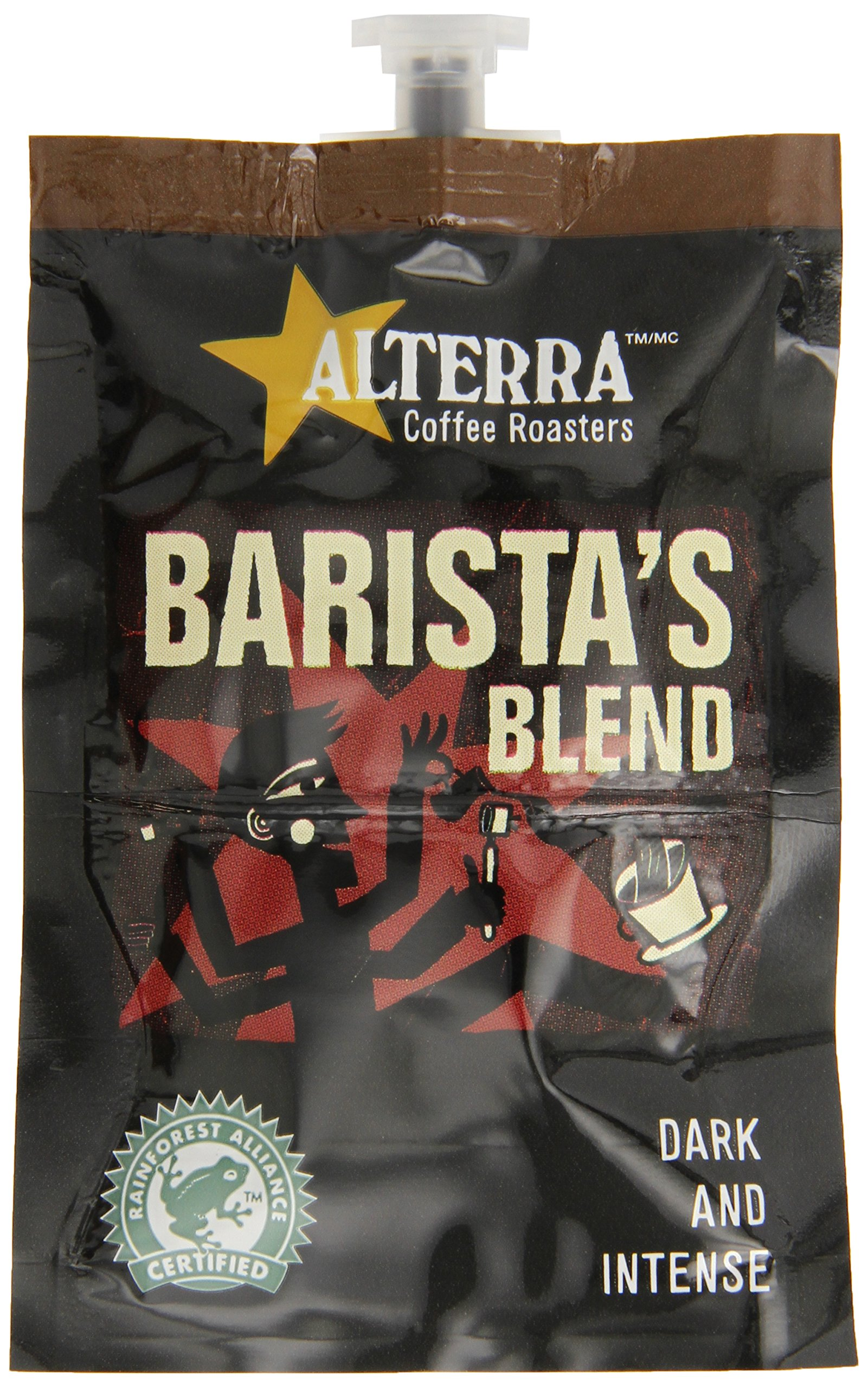 FLAVIA ALTERRA Coffee, Barista's Blend 20-Count Fresh Packs (Pack of 5) by Flavia