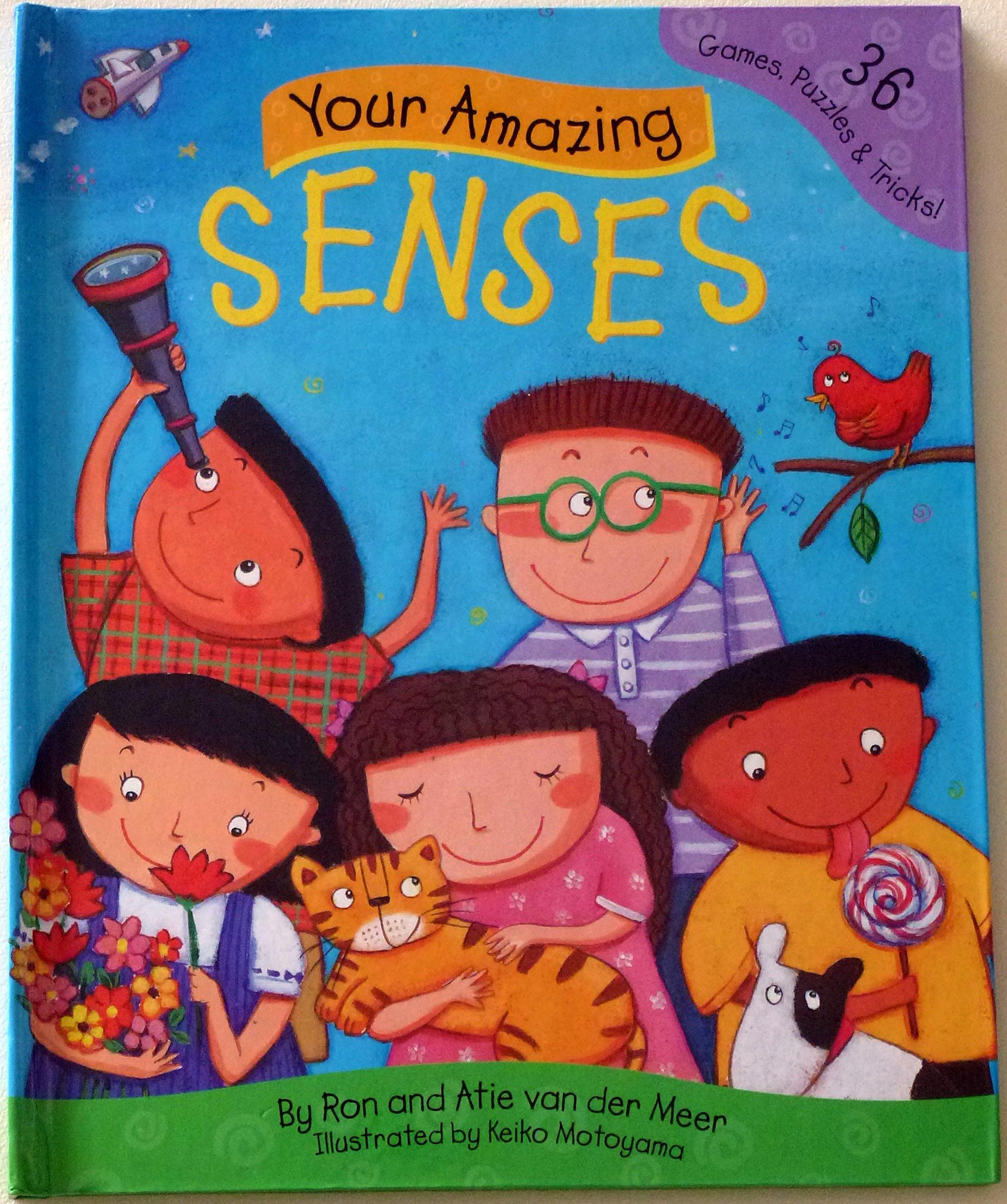 Your Amazing Senses: 36 Games, Puzzles & Tricks: Amazon.es
