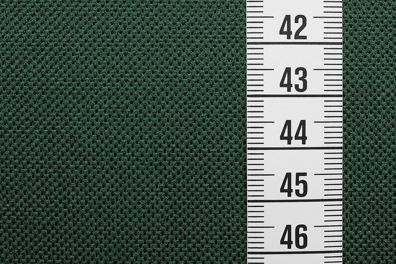 Impermeable y a prueba de viento verde oscuro Por metro Lona de poli/éster robusta recubierta de PVC Breaker Impermeable