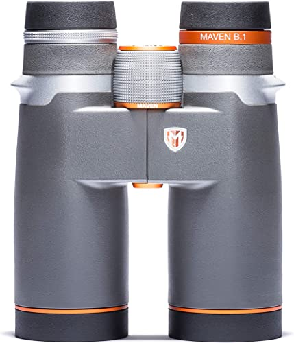 Maven B1 8X42mm ED Binoculars Gray/Orange