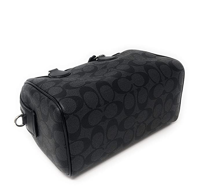 e74d9e4db6 Amazon.com  New Coach Signature Mini Bennet Satchel (Black Grey)  Shoes