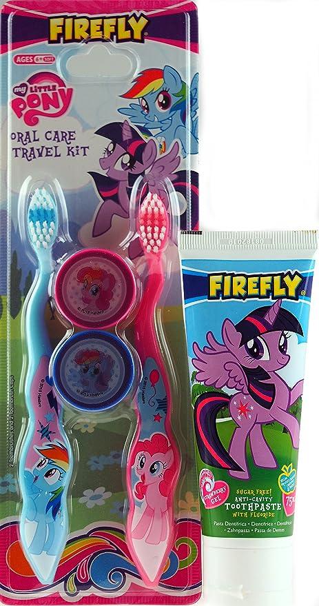 Top Toys 4U My Little Pony – Cepillo de Dientes y Pasta de Dientes del Niño