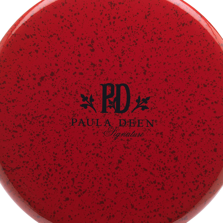 Paula Deen Signature esmalte sobre acero 12-quart olla con tapa: Amazon.es: Hogar
