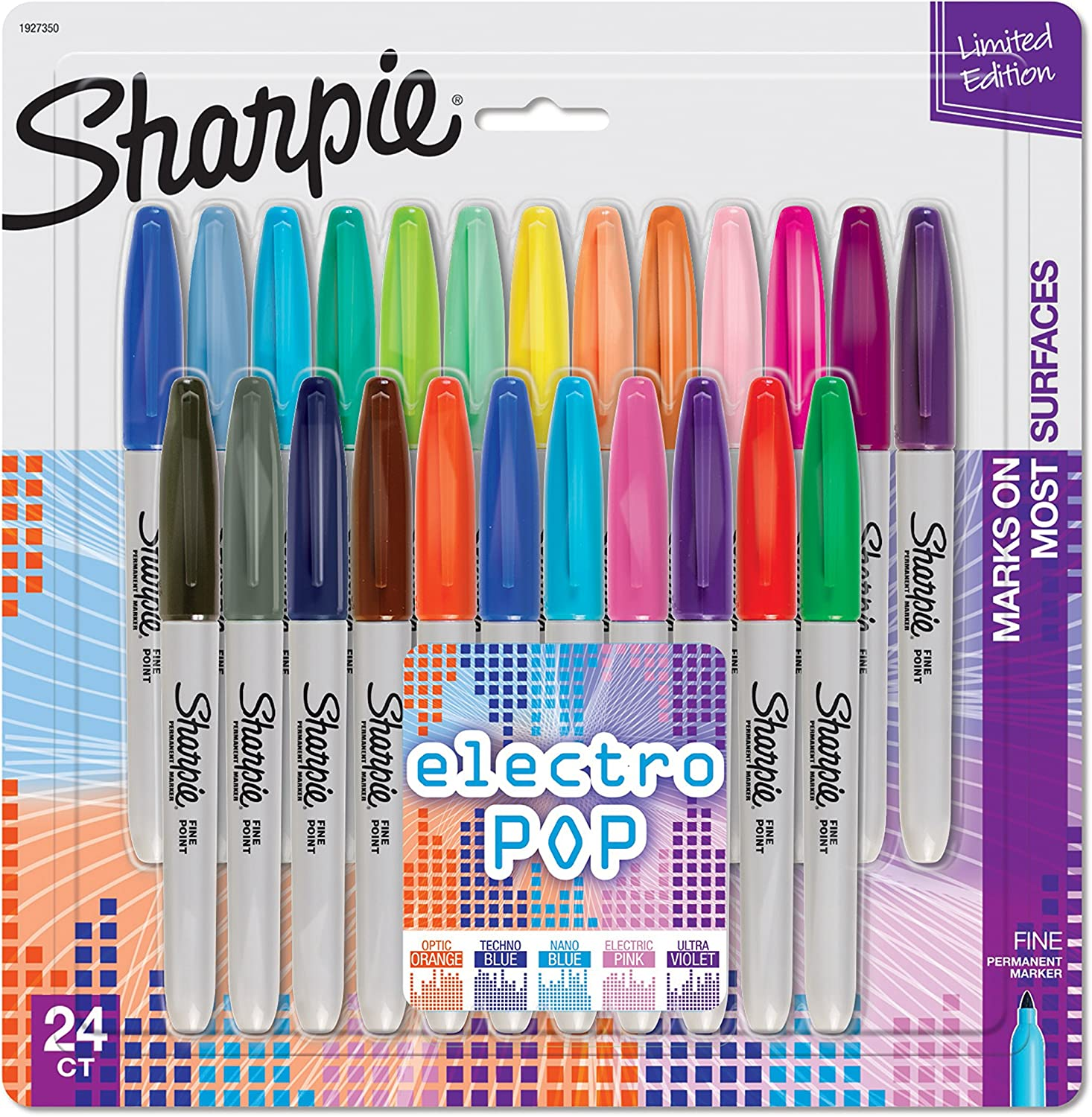 Pack of sharpies.