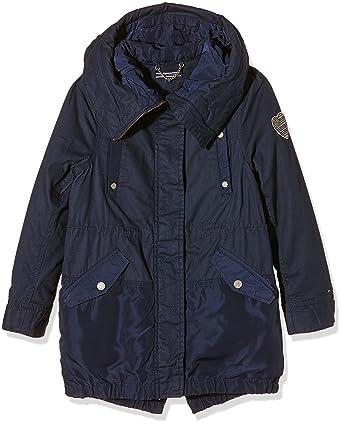 Tommy Hilfiger KG0KG01995, Manteau Fille^Fille, (Navy Blazer), FR: 10 Ans (Taille Fabricant: 10)
