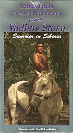 Vadims Story Summer in Siberia Front Cover