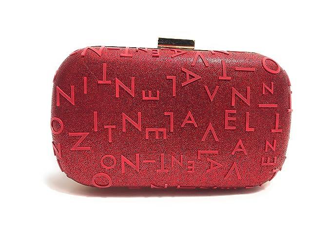 VALENTINO BY MARIO VALENTINO - Cartera de mano para mujer Rojo rojo rojo S: Amazon.es: Ropa y accesorios