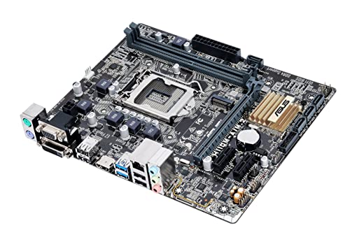 ASUS LGA1151 DDR4 M.2 HDMI DVI USB3.0 H110 MicroATX Motherboard