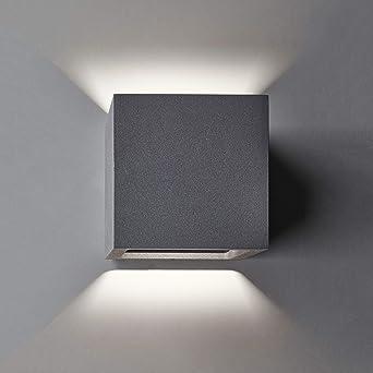 Aeg W Ailis Applique Murale D'aluminium En Fonte Extérieure 6 dQrshtC