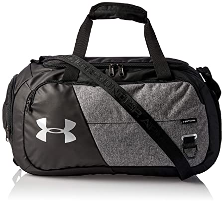 front facing under armour duffle 4.0 gym bag