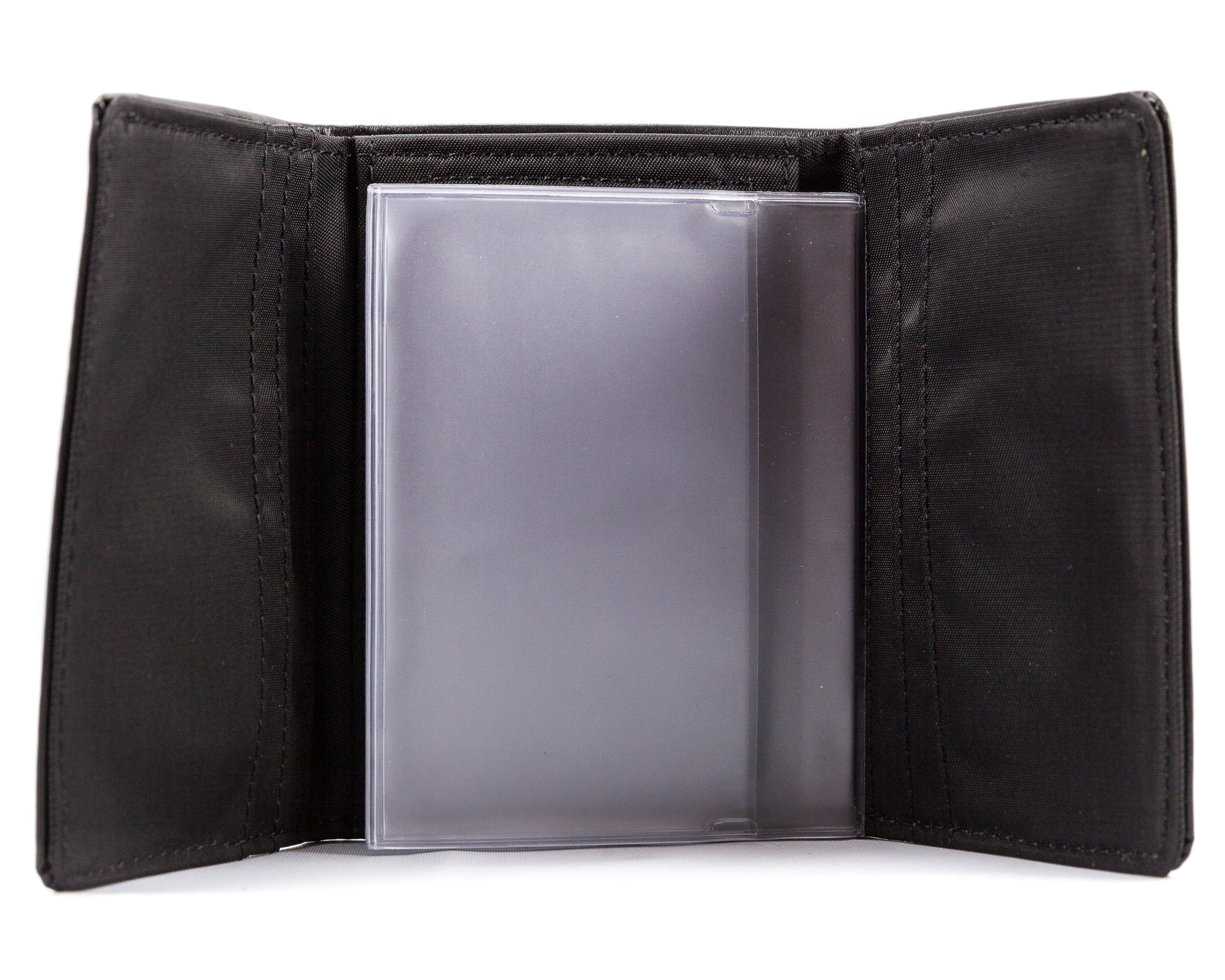 Big Skinny Men's Wallet Insert Tri-fold Transparent