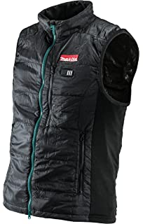 0824eefab6738 Makita DCV200ZL 18V LXT Lithium-Ion Cordless Heated Vest Only, Large, Black