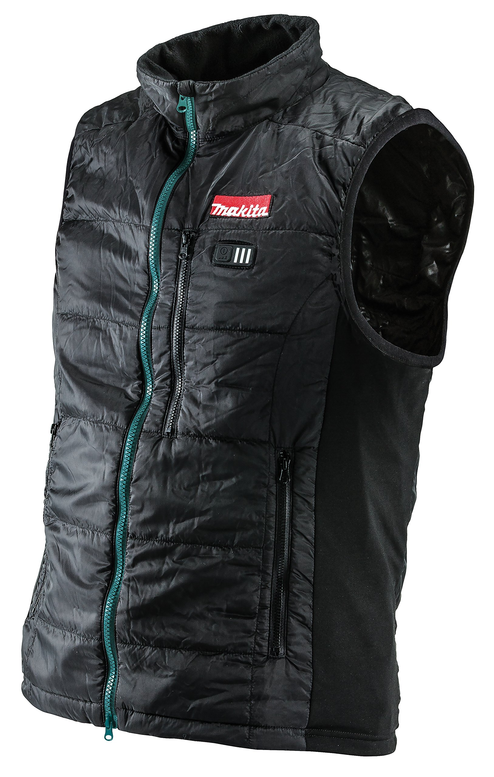 Makita DCV200ZL 18V LXT Lithium-Ion Cordless Heated Vest Only, Large, Black by Makita (Image #1)
