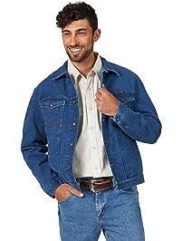 Wrangler Mens Cowboy Cut Unlined Denim Jacket Denim Jacket