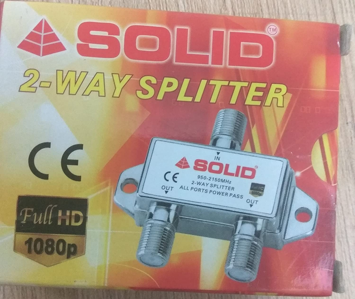 Solid Nws 2 Way Splitter 950 2150 Mhz Full Hd 1080p Twoway Multiswitch Electronics