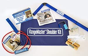 RangeMaster All in one Shoulder Strengthening and Home Therapy Kit │ Physical Therapy Tool │ Aids in Recovery and Increasing Mobility │ Comprehensive Exercise Guide │ Metal Bracket Door Attachment