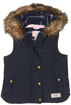 12eb666154 Joules Girl s Alanis Gilet  Amazon.co.uk  Clothing