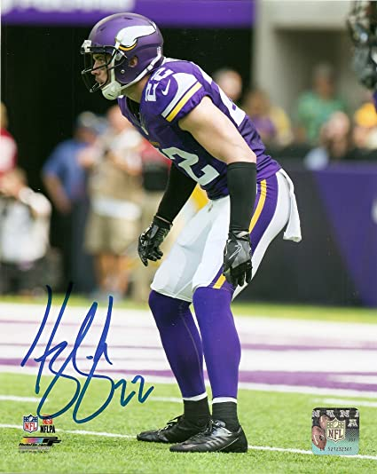 662164d05a3 Harrison Smith Minnesota Vikings Autographed Signed 8 x 10 Photo COA Pose    3