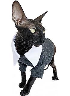 Kotomoda ropa para gatos traje de gato collar blanco (XL)