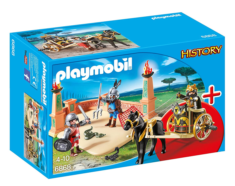 Playmobil 6868 History Starter Set Gladiator Fight