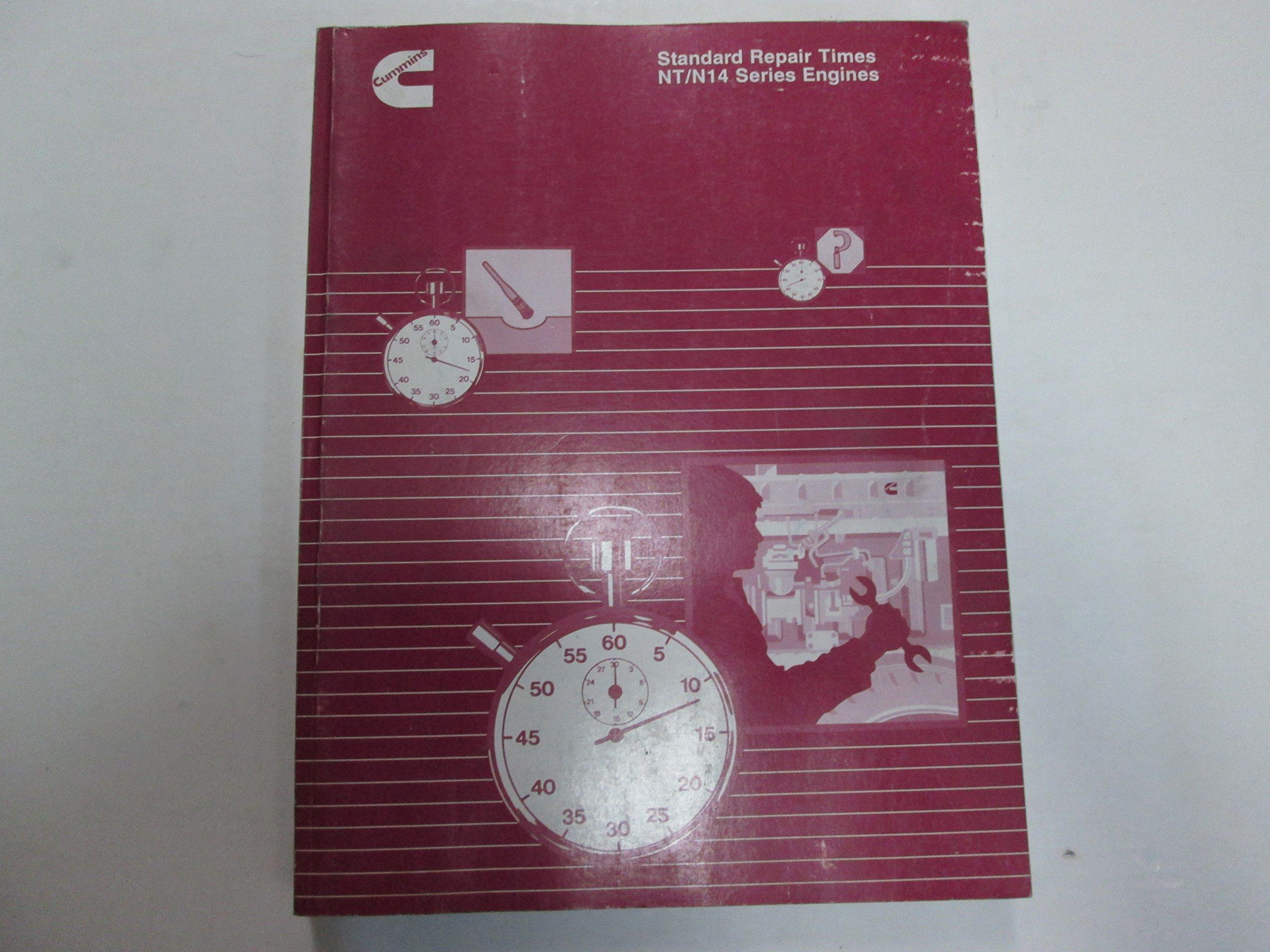 1993 Cummins NT N14 Series Engines Standard Repair Times