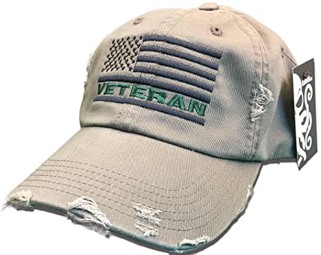 Amazon.com  Veteran American Flag Hat Olive Green USA OIF Vietnam ... a40cff001d1