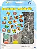 New Image Group SGP-08 Suncatcher Group Activity Kit, Fun Animal, 18-Pack