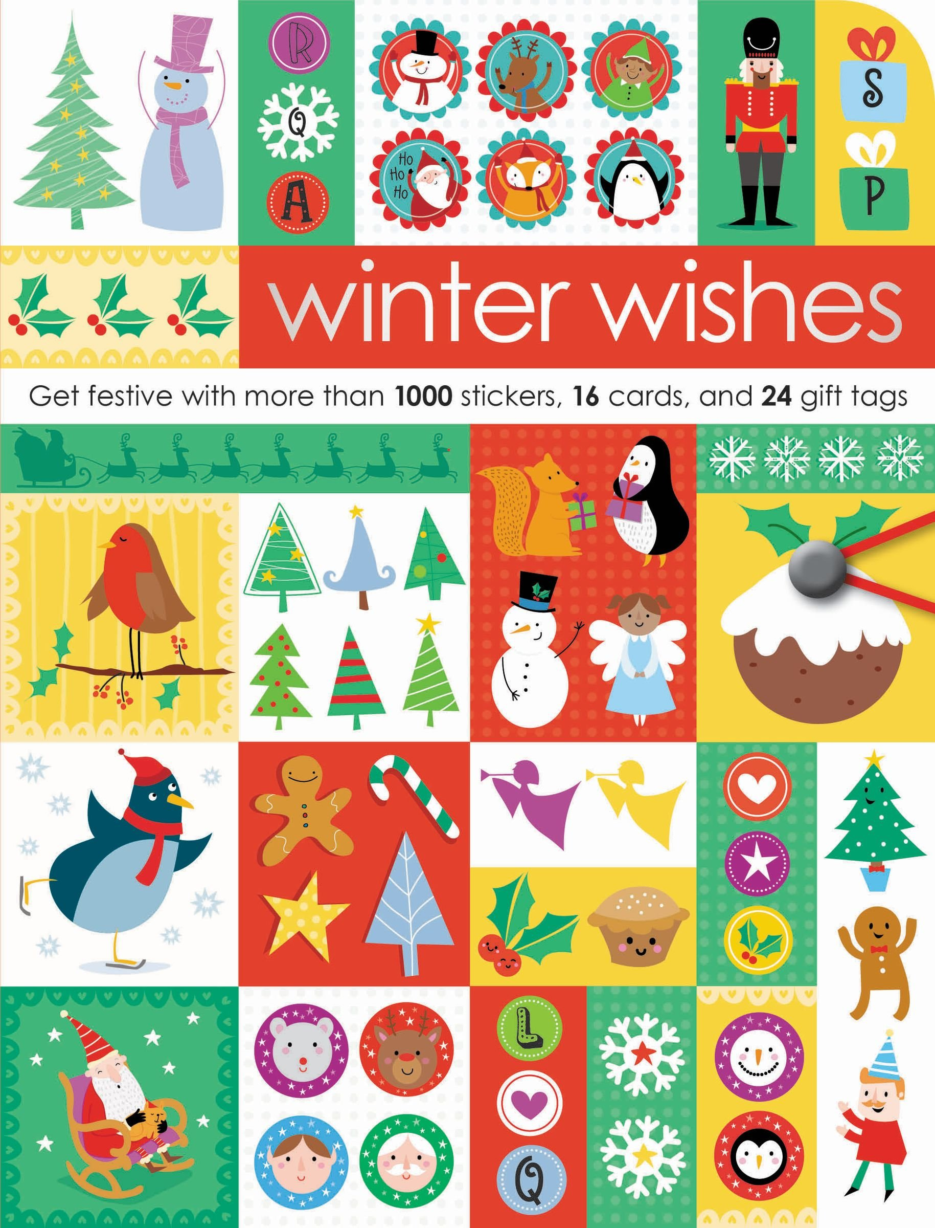 Winter Wishes: Get Festive With More Than 1000 Stickers, 16 Cards, and 24 Gift Tags (Sticker Chic) pdf