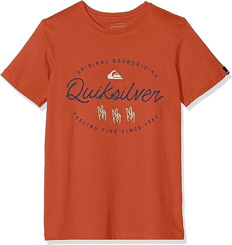 Quiksilver Wave Slaves T-Shirt Boys - Camiseta de Manga Corta Niños: Amazon.es: Deportes y aire libre
