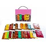 Stash Tea Bags Sampler Great Tea Assortment, Includes Mints by Tea Time Sampler, Great Reusable Bag