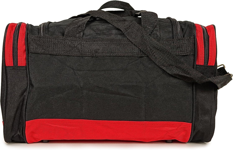 NuFazes 17 Duffel Bag Travel Size Sports Gym Bag Duffle Bag