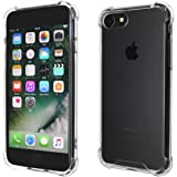 CASE FACTORY iPhone8/7共用 耐衝撃バンパー+アクリルハイブリッドケース Protection fix shell for iPhone8/7 クリア