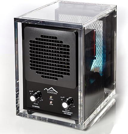 New Comfort 6 Etapa acrílico UV Confort ca3500 Nuevas Generador de Ozono Purificador de Aire HEPA Fundas 3500 pies: Amazon.es: Hogar
