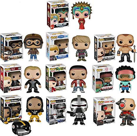 Funko POP Exclusive Mystery Starter Pack Set of 10 Includes 10 Random Funko POPS Will Vary and No Duplicates by POP: Amazon.es: Juguetes y juegos