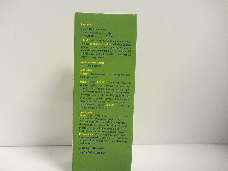 Amazon.com : Kilicel Shampoo Auxiliar Para Eliminar Piojos Y Liendres Auxiliary to Remove Lice and Nits : Beauty