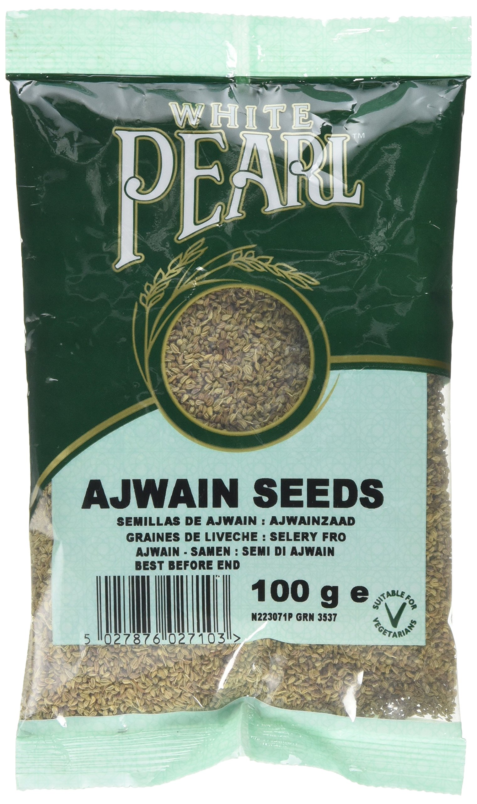 White Pearl Ajwain Seed (Pack of 8)